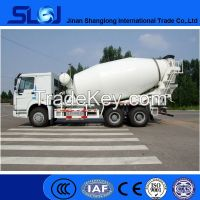 Brand new 10 wheel sinotruck howo concrete mixer truck 6x4 for sale