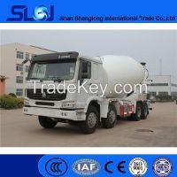Biger Durable Concrete 8x4 mixer truck 12-14m3 mixer tank