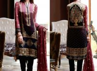 Ethnic Filigree Silk Collection - Digital Printed & Embroidered Silk (3Pcs) Designer Suit for Women