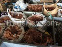 High purity Copper Wire Scrap copper scrap Millberry Copper 99.99% factory price