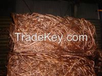 100% High Purity Copper wire scrap 99.99/mill berry copper scrap for sale
