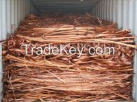 Copper wire scrap Millberry 99.9%. copper wire scrap 99.99% copper scrap for sale
