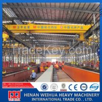 Double girder Electric Hoist Overhead Crane for Sale