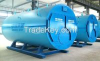gas oil fired steam boiler