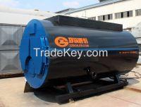 gas oil fired steam boiler