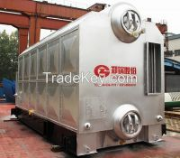 Double drum industrial biomass fired boiler
