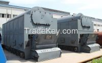 Industrial fire tube wood chips steam boiler