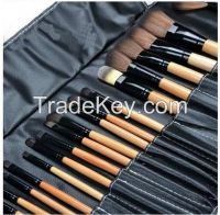 New 24pcs Professional Makeup Cosmetic Brush Set tool+Black CASE