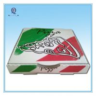 Custom eco-friendly color pizza box/excellent printed pizza box
