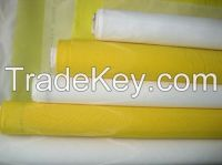 China products white polyester silk screen printing mesh fabric/110 mesh screen printing mesh fabric
