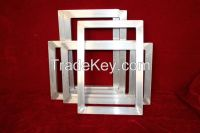 New product with competitive price silk screen printing aluminum frames