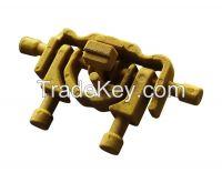 Hydraulic valve series casting
