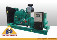 400KW KTA19-G4 Cummins Diesel Generator Soundproof Silent Open set