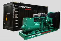 450-2500kVA: International Cummins G-drive Diesel Generator Set Open Type Silent Box Genset