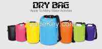 outdoor sports 500D pvc tarpulin dry bag.the best you have ever found 10L