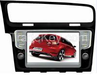 in Dash Car DVD for V-W Go-Lf 7 with Bt/GPS/Radio/DVD/CD in Yessun