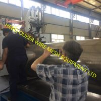 Stainless steel wedge wire johnson screen welding machine