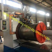 Water well filter wedge wire screen welding machine