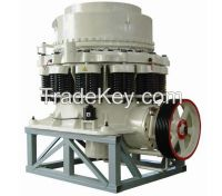 Cone crusher for mining, gold copple, lead, Iron, marble etc.