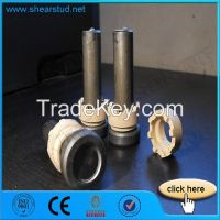 Cheese Head Koco And Nelson Weld Stud Drawn ARC Shear Stud Connectors With Ceramic Ferrule