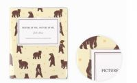 Photo albums with various designs