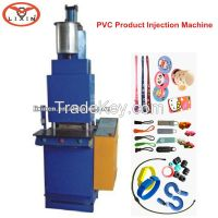 Keychain Automatic Injection Machine with Liquid PVC, Silicone, Ink
