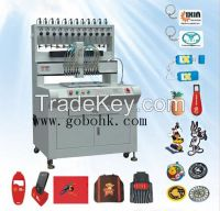 Automatic Rubber Injection Moulding Machine for Keychain LX-P800