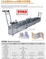 Full-Automatic Silicone 3D Printing Machine for Fabric Paper, Color Tape, PP, PE in Web Feeding