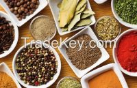 Spices, Seasonings and Herbs , White pepper, Black Pepper, Curry