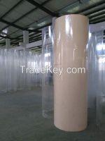 large diameter acrylic tube/clear acrylic tube