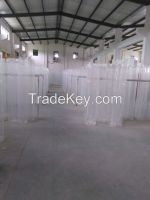 Clear Round Extruded Acrylic Tube