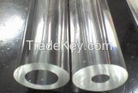 clear hollow acrylic tube