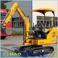 mini excavator 1.5 ton xcmg xe15