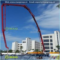 truck mounted concrete pump 60M  XCMG HB60K with BENZ chasis