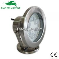 QR Waterproof IP68 LED Underwater Light 18W 1400lm�±5% hot sell New