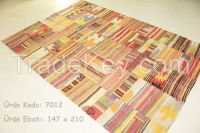 vintage rug, patchwork carpet