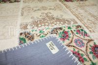 vintage rug, patchwork carpet
