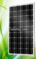 A grade 120W mono solar panel