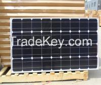 135W mono solar panel with 25 years warranty