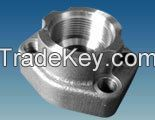 hydraulic fittings, SAE flange