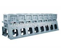 Lareg marine diesel engine block