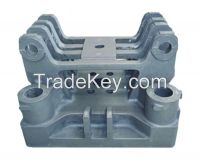 Injection molding machine parts - iron cast