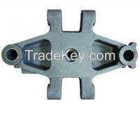 Injection molding machine parts - iron cast