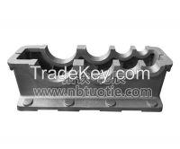 Reducer Gear unit - iron cast