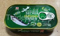 canned sardine
