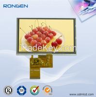 5 inch 800*480 tft lcd module video interphone display