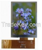 3.5 inch TOP lcd screen 480*640 display transflective sunlight readable