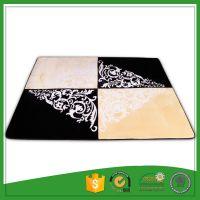 Warp Knitting Blanket Fabric Cheap Floor Carpet