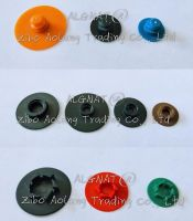 Plastic button for the quick change disc or sanding disc