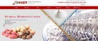 professioanl cassava starch production equipment price 500kg per hour